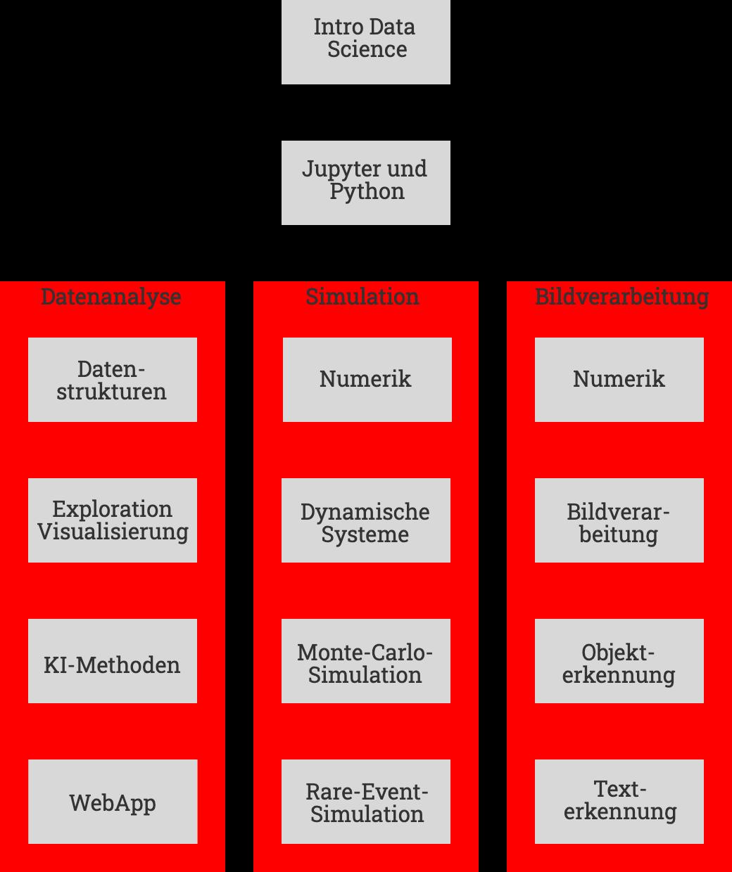Struktur des Kurses